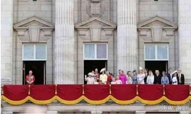 Tymczasem w brytyjskiej rodzinie królewskiej