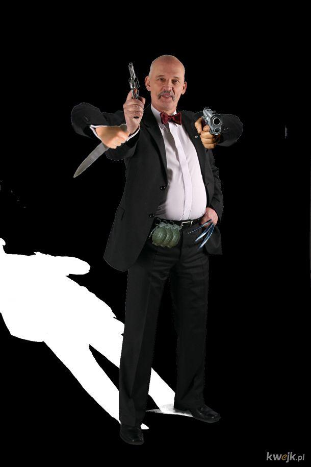 Zdjęcie Korwina z bronią ale każdego dnia dostaje dodatkową broń dzień#4