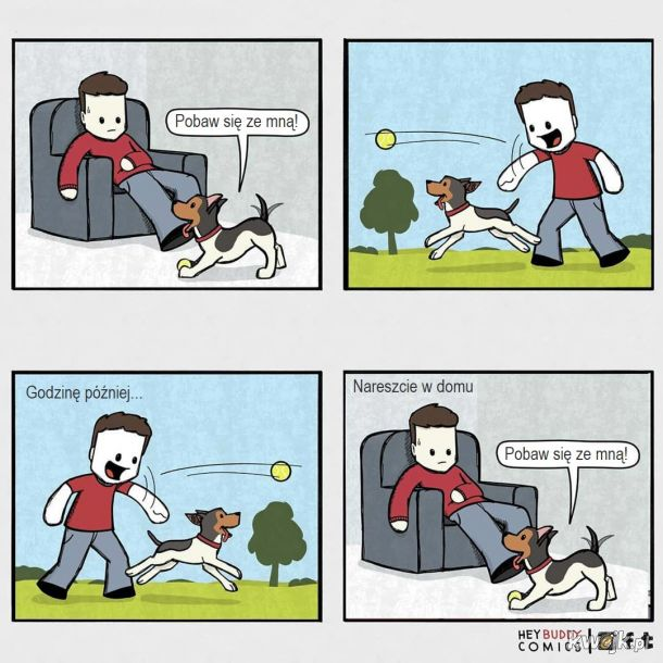 Oto komiksy zainspirowane przez psa, z którymi może się utożsamiać większość właścicieli psów, obrazek 9