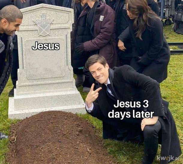 To w sumie dobry mem na Wielkanoc