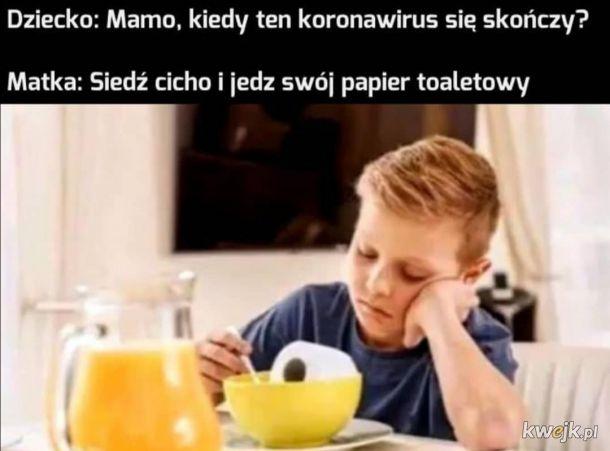 Jedz ten papier xD