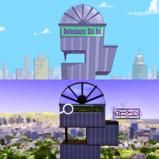 Oto jest Spółka Zło Dundersztyca... w The Sims