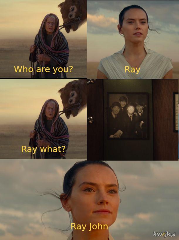 Prawdziwa scena  Skywalker. Odrozenie