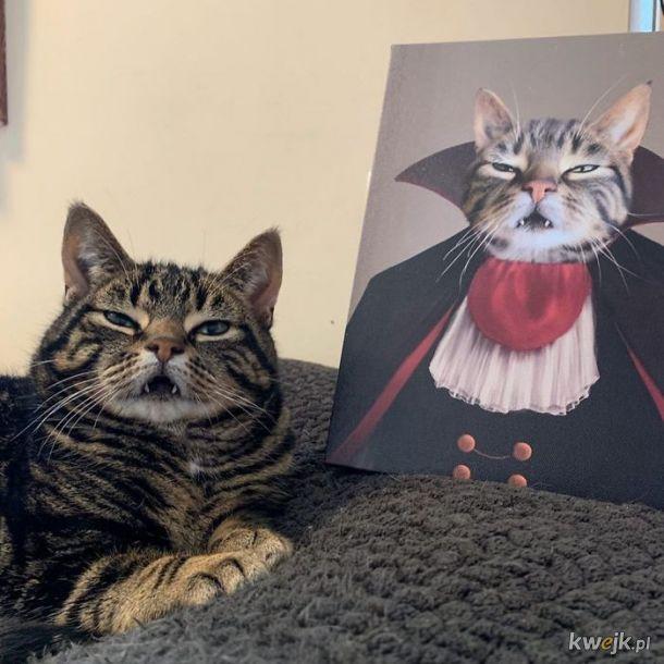 Zwierzęta i ich portrety królewskie