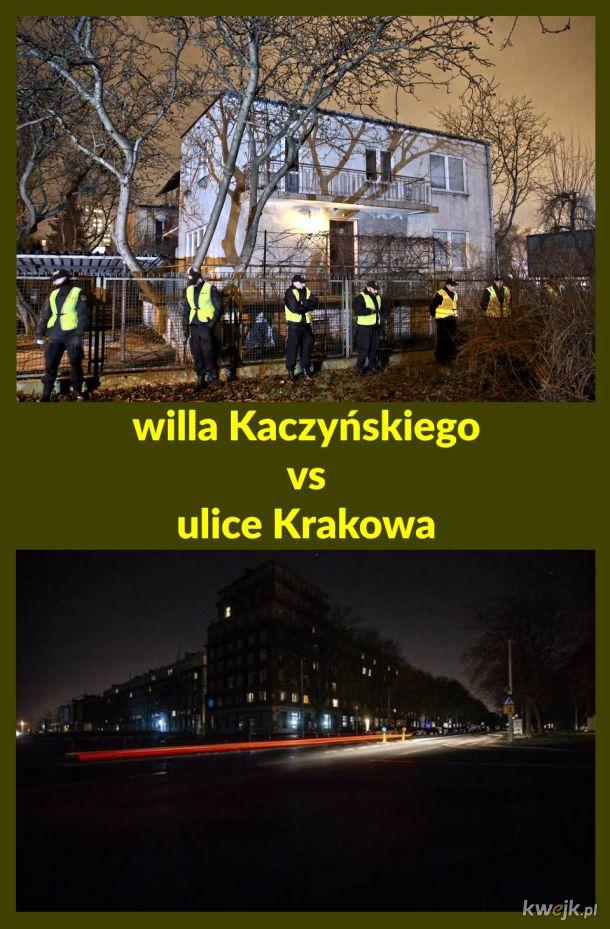 willa Kaczyńskiego vs ulice Krakowa