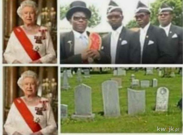 Królowa vs śmierć
