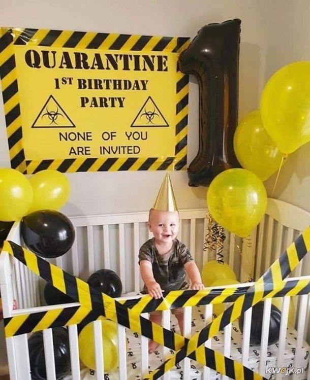 Urodzinki na kwarantannie