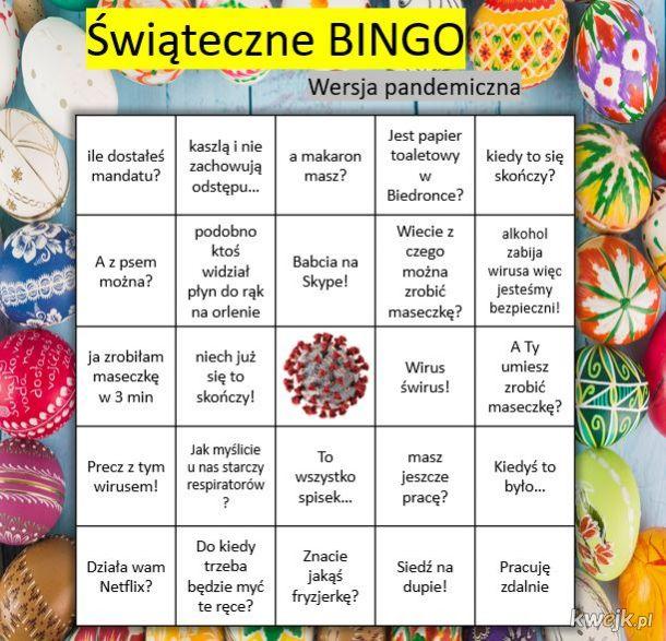 Świąteczne Bingo