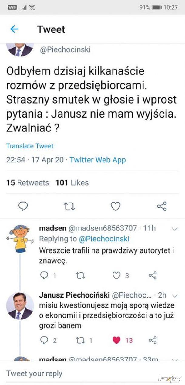 Janusz Król Twittera
