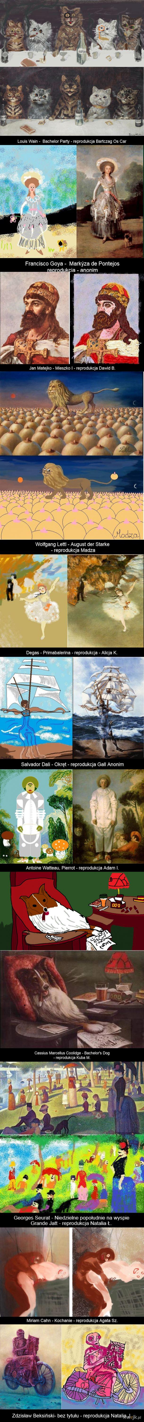 Malarstwo w Paincie - najpopularniejsze z poprzedniego tygodnia