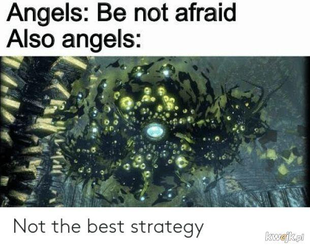 Anioły według biblii