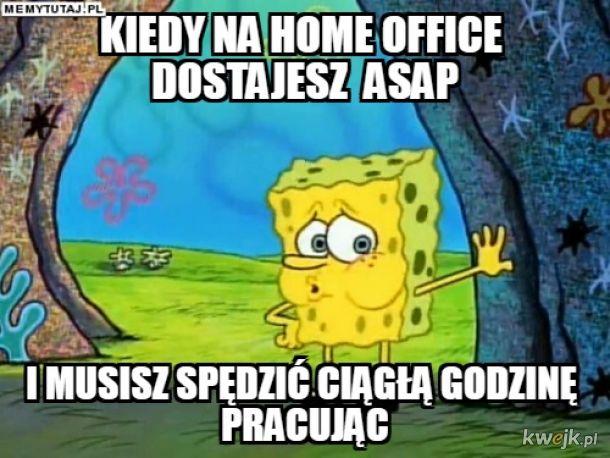 Praca na home office