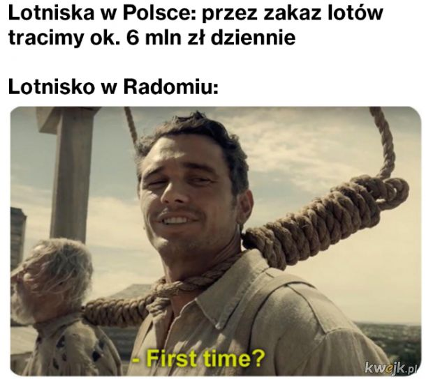 Polskie lotniska takie są