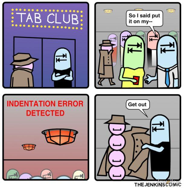 Klub dla tabulatorów