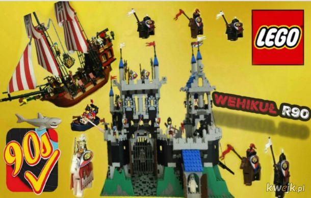 Kultowo Prestiżowe Klocki Lego Z Lat Tych 90 Tych