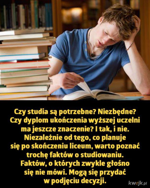 Rzeczy, których nie mówią ci o studiach w Polsce