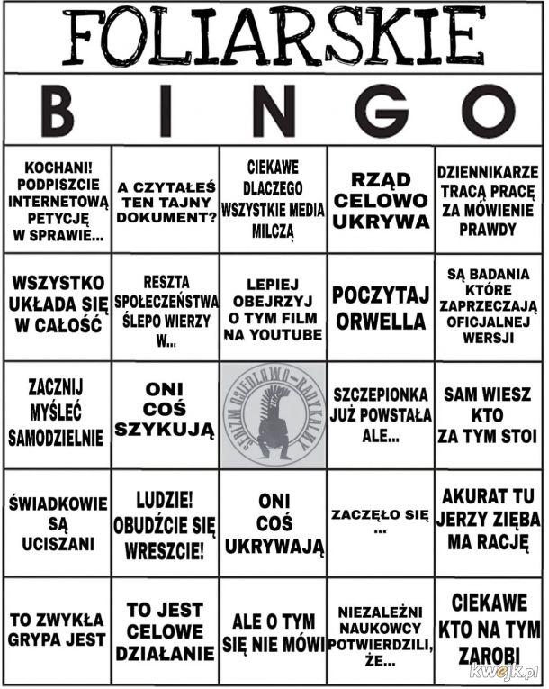 Foliarskie bingo