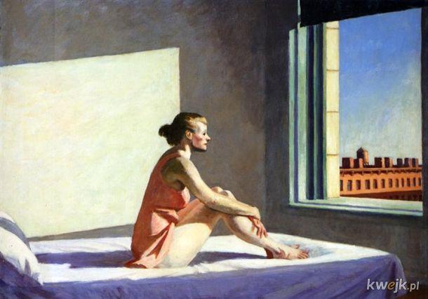 Wygląda na to, że wszyscy jesteśmy teraz postaciami z obrazów Edwarda Hoppera