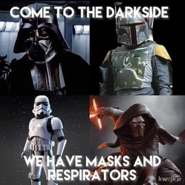 If you only knew the power of the Dark Side