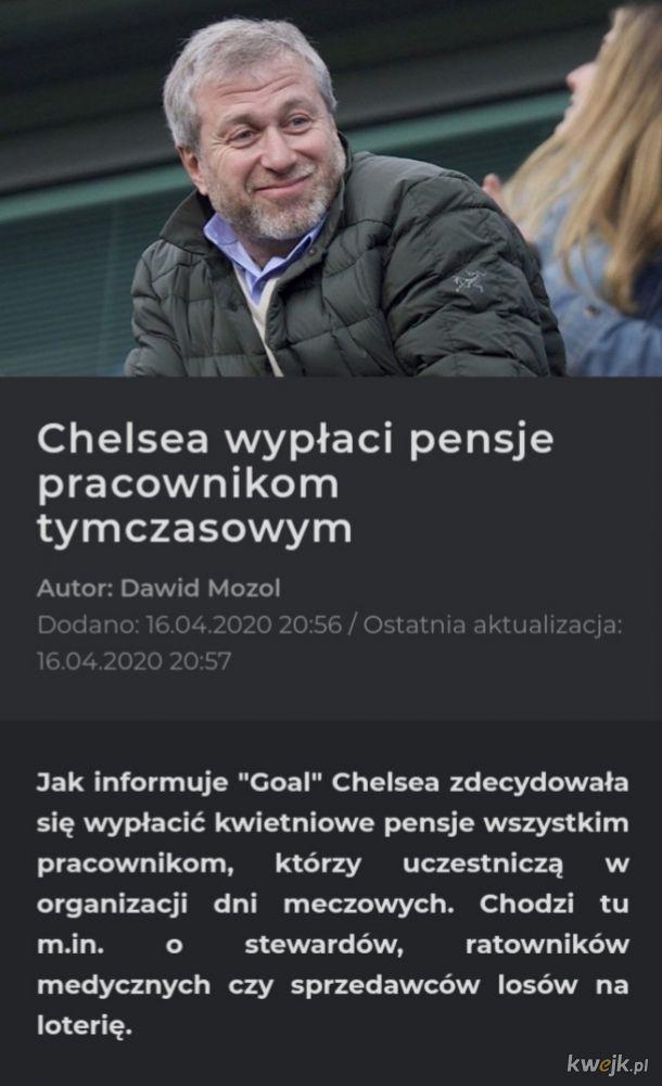 Chelsea z klasą nie to co looserpol