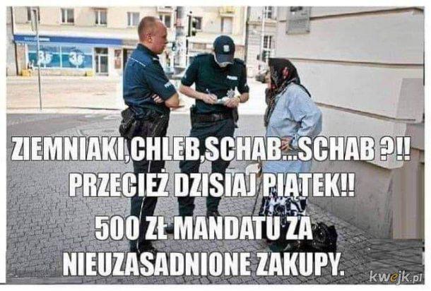 Nadgorliwa policja