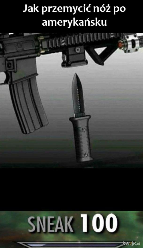 Przemycanie noża