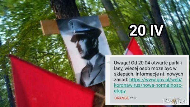 Chłopaki z Wafel-Schutzstaffel będą mogli swobodnie świętować urodzinki...