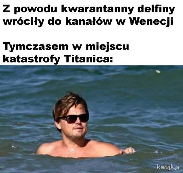 Czeka na następnego Titanica