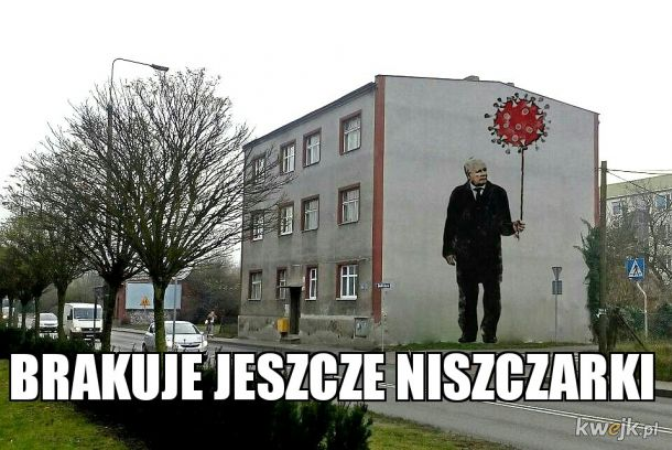 Banksy tu był...
