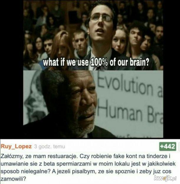 Użycie mózgu