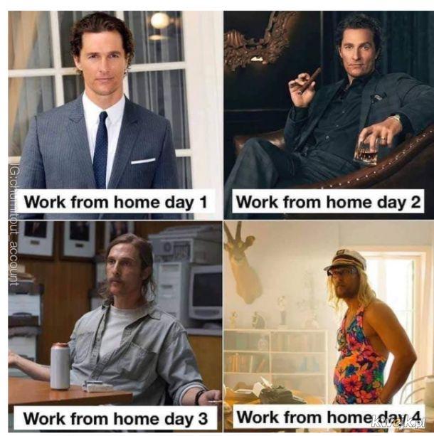 Praca z domu, którym pracownikiem jesteś?