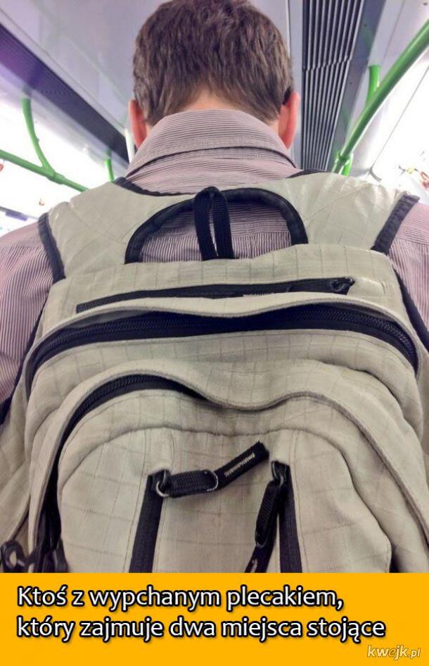 Najgorsze osoby, jakie spotkasz podróżując środkami komunikacji publicznej