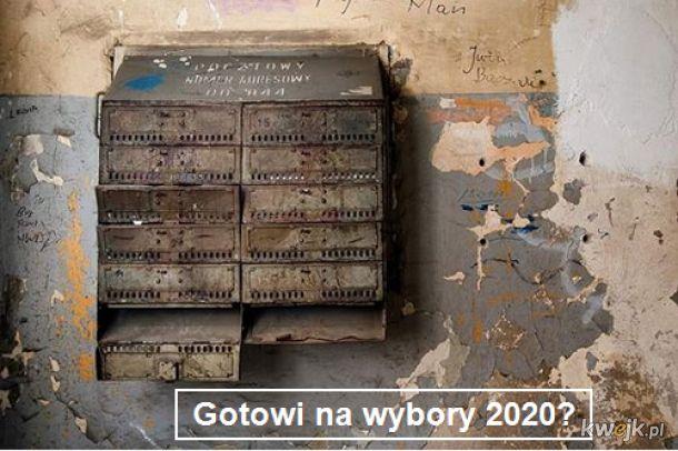 Gotowi na wybory 2020?