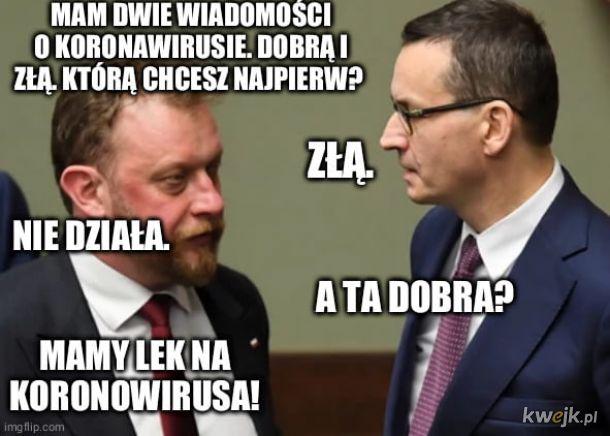 Szumowicz i Morawiecki