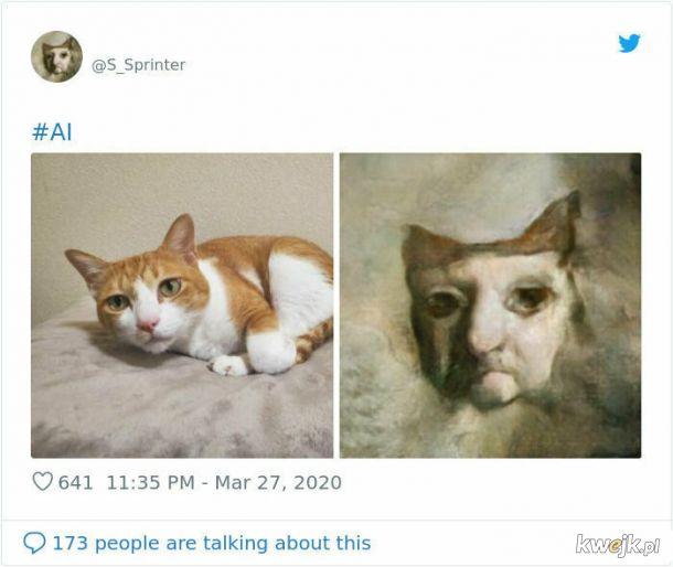Aplikacja zmieniająca zdjęcia w (rzekomo) renesansowe portrety