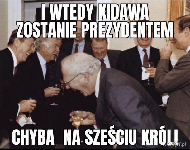 Kidawa prezydentem