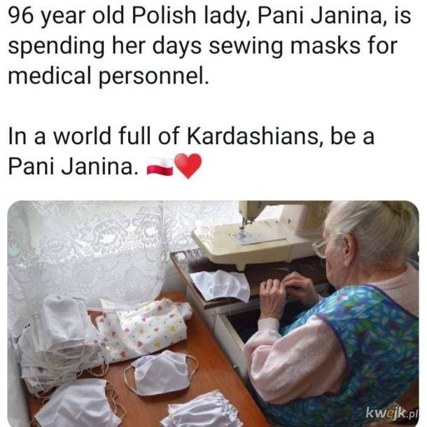 Be a Pani Janina!