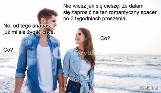 Romantycznie na plaży