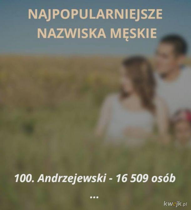 Najpopularniejsze polskie nazwiska - zobacz czy jesteś na liście