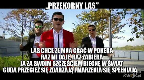 Jest nowy hit Zenka z okazji uroczystego otwarcia lasu!