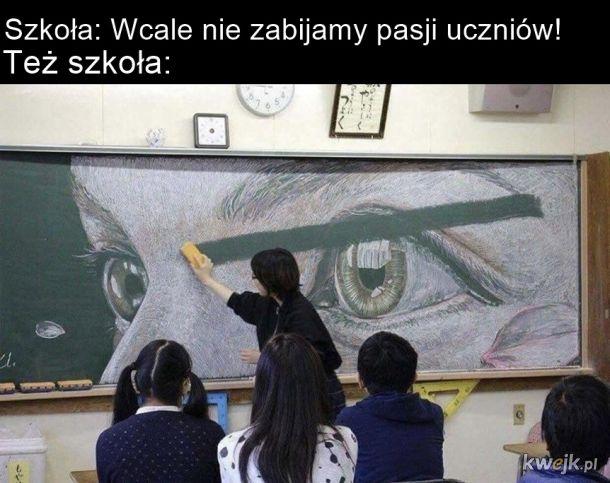 Szkoła a pasje