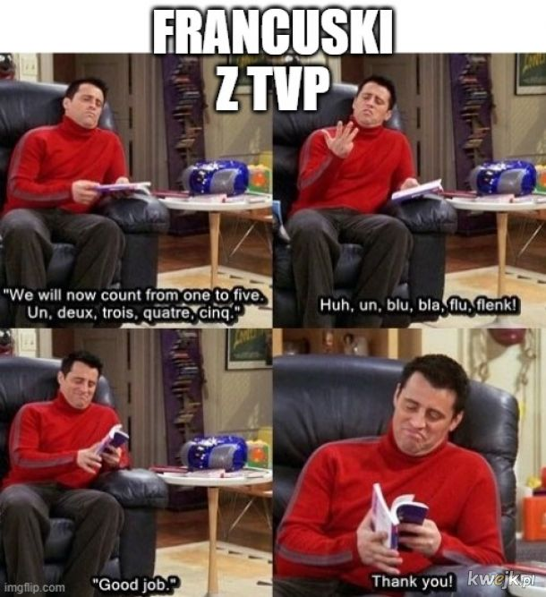 Francuski z TVP - true story