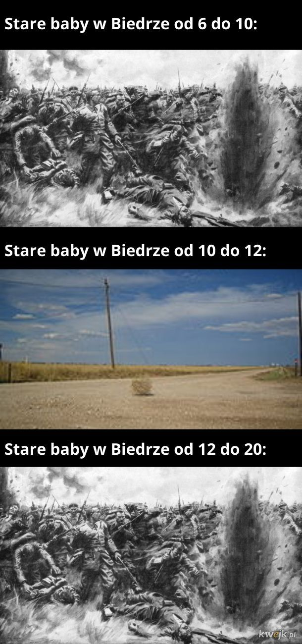 Stare baby w Biedrze