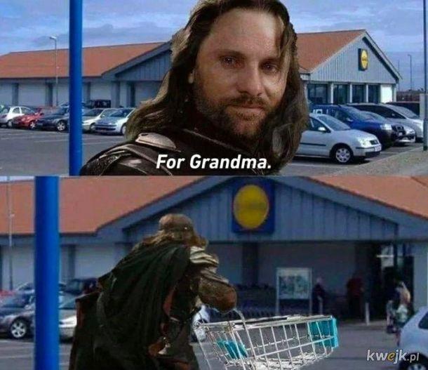 Dla babci
