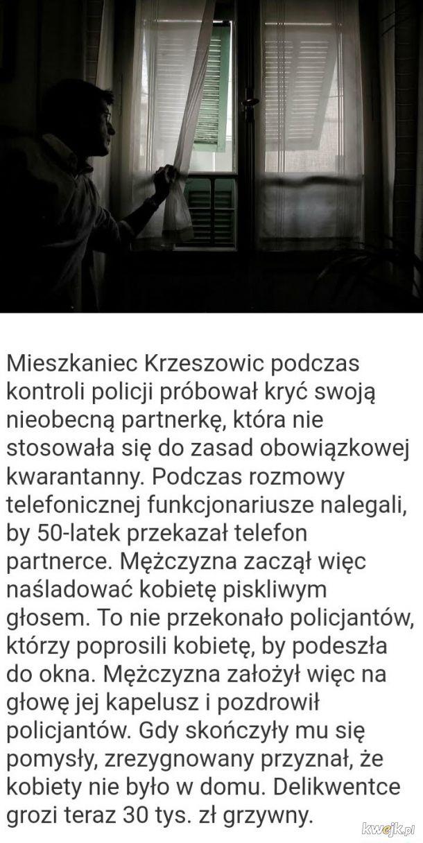 Koronawirus: Nieogarnięci ludzie w Polsce i na świecie