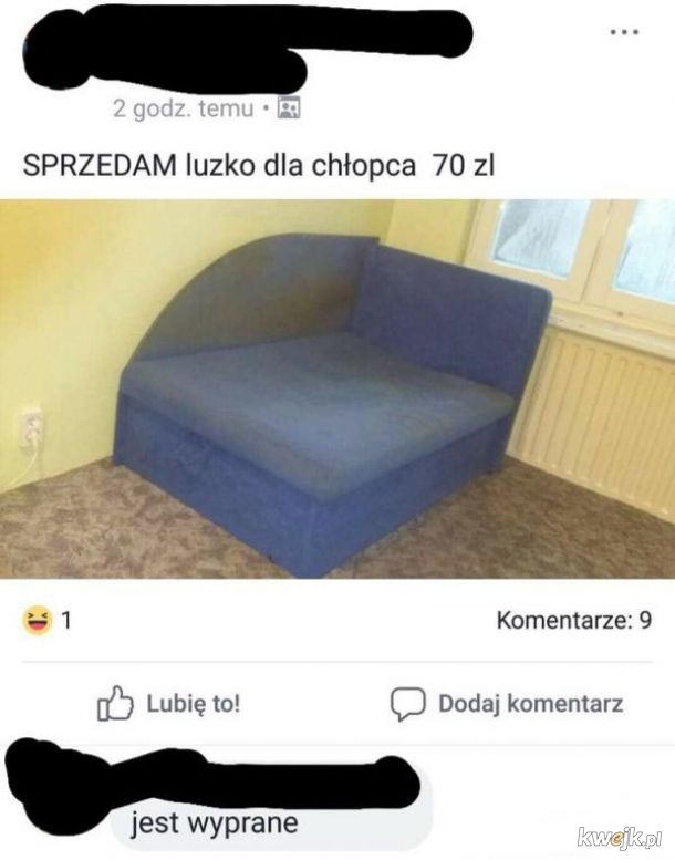 Eleganckie łóżko