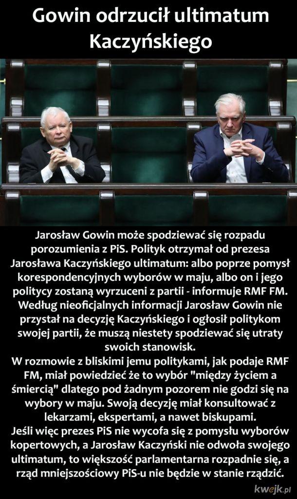 Kaczyński vs Gowin