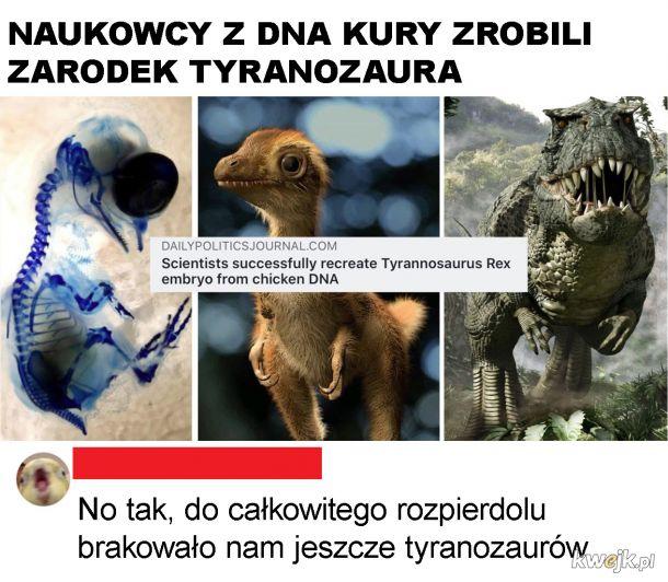 Tyranozaury