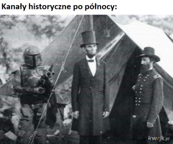 Kanały historyczne takie są!