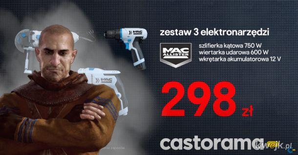 Gaunter o'Dim w reklamie Castoramy